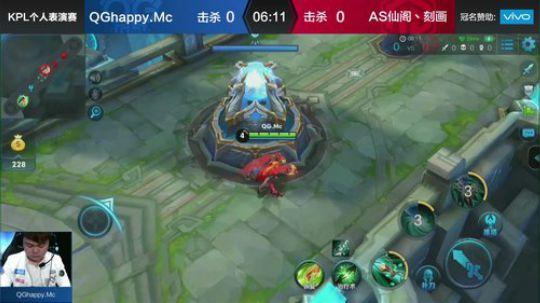 QGhappy.Mc vs AS仙阁丶刻画-个人表演赛