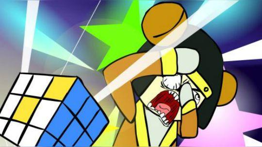 鲁班七号玩魔方,拼不上恼羞成怒摔把魔方砸地上,结果被魔方吸入了一个诡异的空间里。详情请收看本期的农药小电影——王者荣耀搞笑同人动画:《鲁班七号梦游仙境》