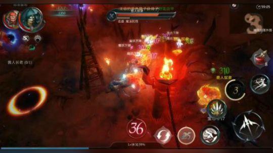 广州帝释天研发 腾讯游戏代理发行《暗黑之书》今日封测开启