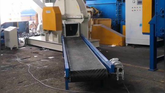 佑信机械管材专用破碎机大型管子粉碎机