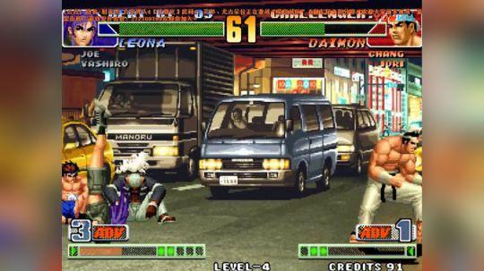 拳皇98C版平台顶级大神八神月VS装甲车