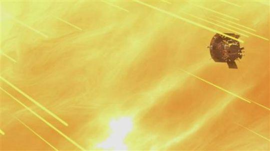NASA帕克太阳探测器动画