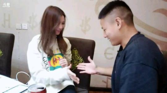 张雪薇和付海龙甜蜜视频。。。
