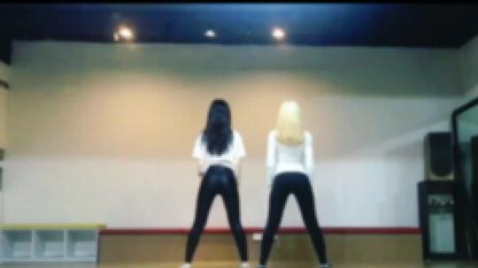 冰冰VIVA 韩国女子组合练习生时期舞蹈练习视频