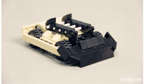 这就是铁甲:铁甲Sandstorm乐高积木版 自制原创MOC