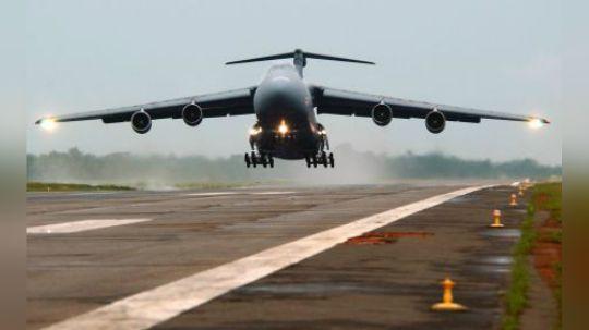 美总统亲自督建世界最大运输机 能一次性全球投送超过130吨物