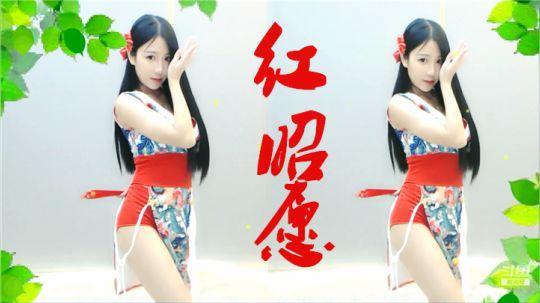 【小深深儿】《红昭愿》春风绕过发梢红纱 ❤
