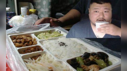 餐语 国安社区老年餐 量大新鲜不油腻