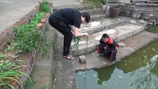 第一次带朋友到池塘强磁打捞,小伙手感不错,看看都捞到一些什么