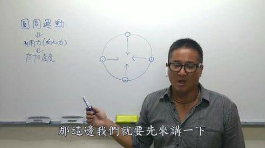 土豪老師五分鐘教你學會初中理化~牛頓篇10~圓周運動