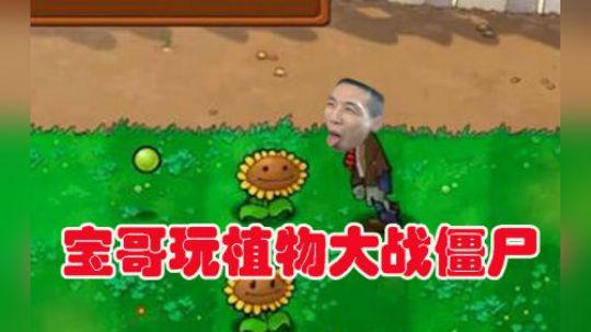 宝哥玩植物大战僵尸:笑死了