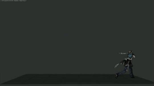 二次元游戏角色动画demo集合
