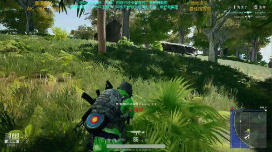 大菠萝 M249 真的是太爽了!