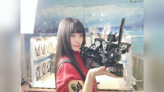 机械骑士 在线切瓜 乐高可遥控机器人