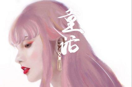 童花花新年女装-古风红裙P1