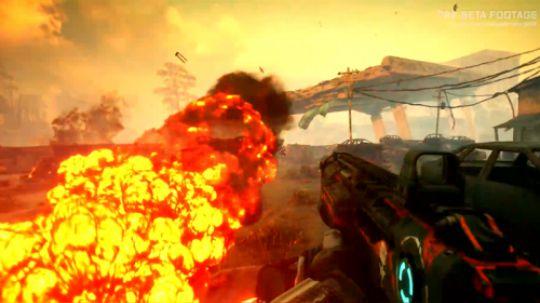 《狂怒2》实机演示 废土战士强无敌