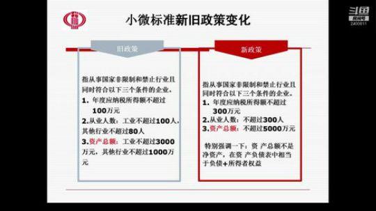 晋江市税务局网络课堂(2019年第一期)减税降负专题