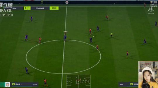 猎浪杯斗鱼FIFA主播超级联赛第六轮录像