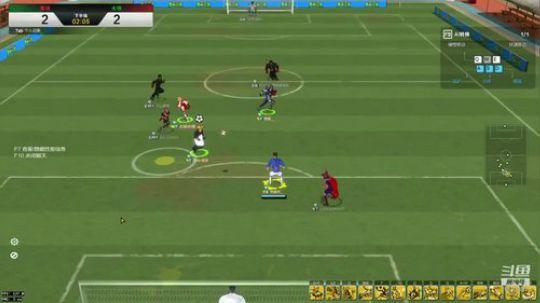 自由足球:单后卫带3前锋