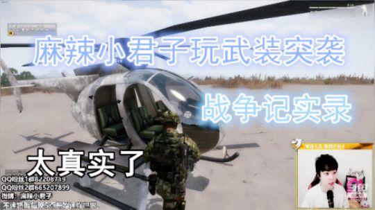 麻辣小君子玩武装突袭记实录最真实的战争游戏