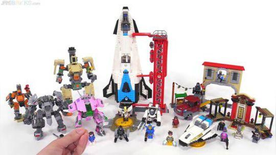 LEGO Overwatch sets together