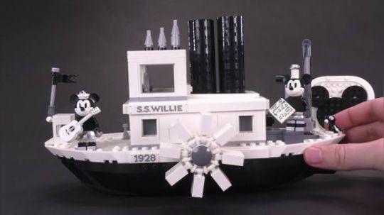 第一时间乐高汽船威利号21317全方位预览