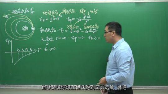 """流浪地球中的""""引力弹弓""""效应是啥?李永乐老师"""