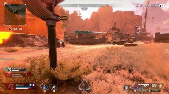 Apex英雄:G7侦查枪远距离打靶,成为击杀王并成功满队吃鸡