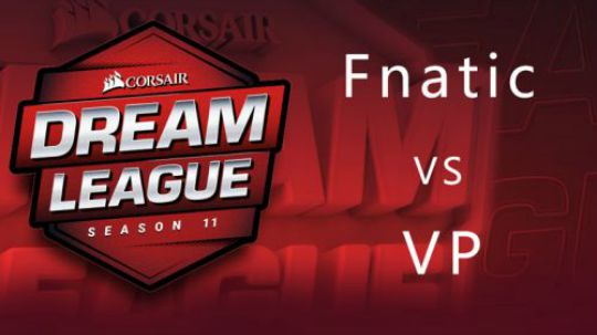 梦幻联赛S11败者组决赛Fnatic-VP-1
