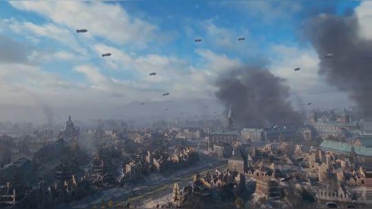 坦克世界 刺刀大乱斗 261VS征服者GC