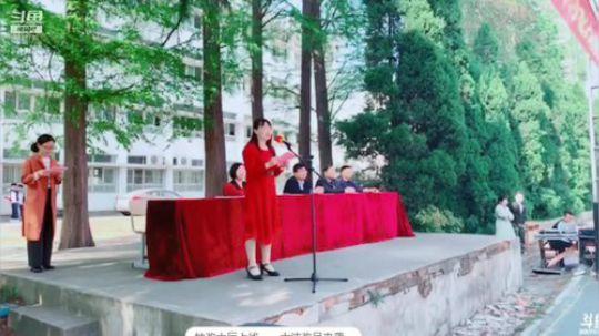 """湖北职院举行""""成人礼""""主题团日活动 2019-04-17 09点场"""