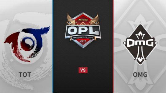 190404 OPL春季常规赛OMG VS TOT SET2
