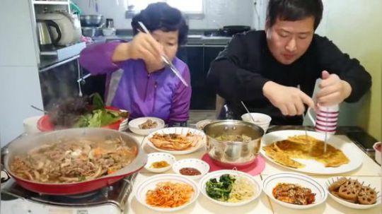 【韩国吃播】和妈妈一起做家常饭 !