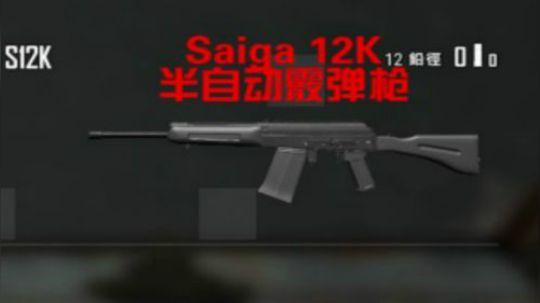 """喷子中的战斗机S12K 号称""""霰弹版AK"""""""