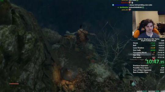 《隻狼:影逝二度》大神26分25秒通关视频