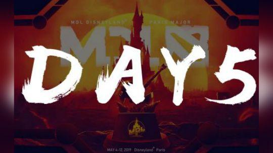 巴黎迪士尼Major每日精选 Day5 中国军团的互相厮杀