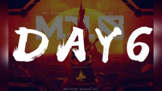 巴黎迪士尼Major每日精选 Day6 唯一X神Xnova