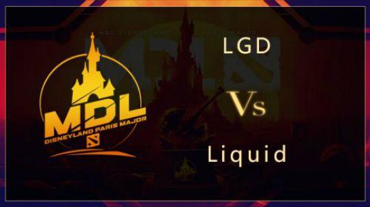 MDL巴黎正赛LGD-Liquid第一局