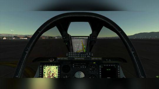 大清早A10-C攻击机超低空飞跃拉斯维加斯!最真实的游戏