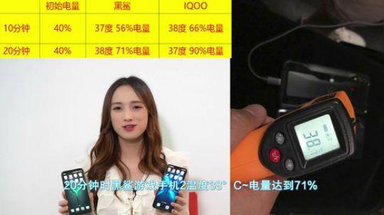 黑鲨游戏手机2与iQOO对比测评
