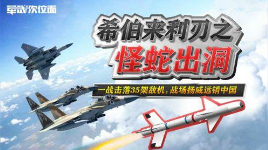 希伯来利刃之怪蛇出洞:一战击落35架敌机 战场扬威远销中国