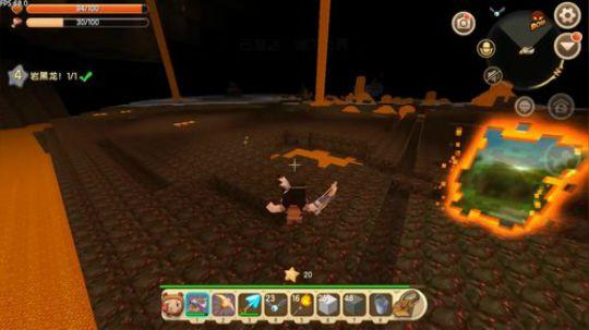 迷你世界:今日沙雕卡卡发现了一个可以踩岩浆的坐骑!