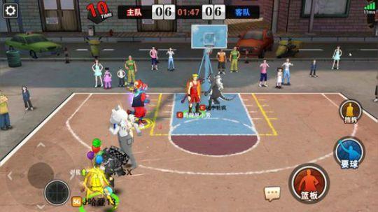 街篮-大前锋的正确使用姿势