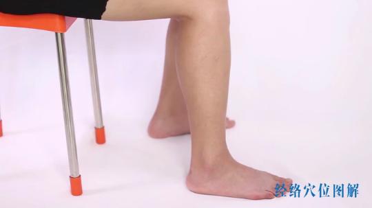 丰隆穴,化痰除湿,同时可瘦大小腿,还丰胸减肥。