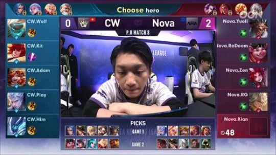【季后赛】NOVA vs CW 第三局-6.13