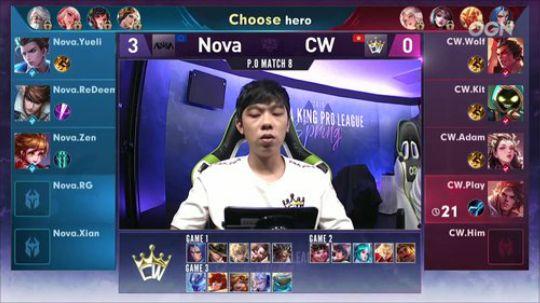 【季后赛】NOVA vs CW 第四局-6.13