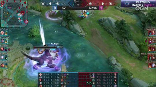【季后赛】NOVA vs KZ 第二局-6.15
