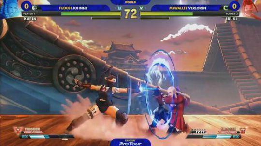Fudoh Johnny (Karin) VS My Wa
