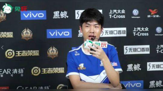 世冠杯兔玩专访 花海:下一次哭可能是下次夺冠的时候吧