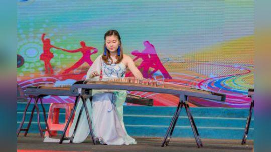 古筝合奏一曲《大鱼》,东莞观音山清新优雅